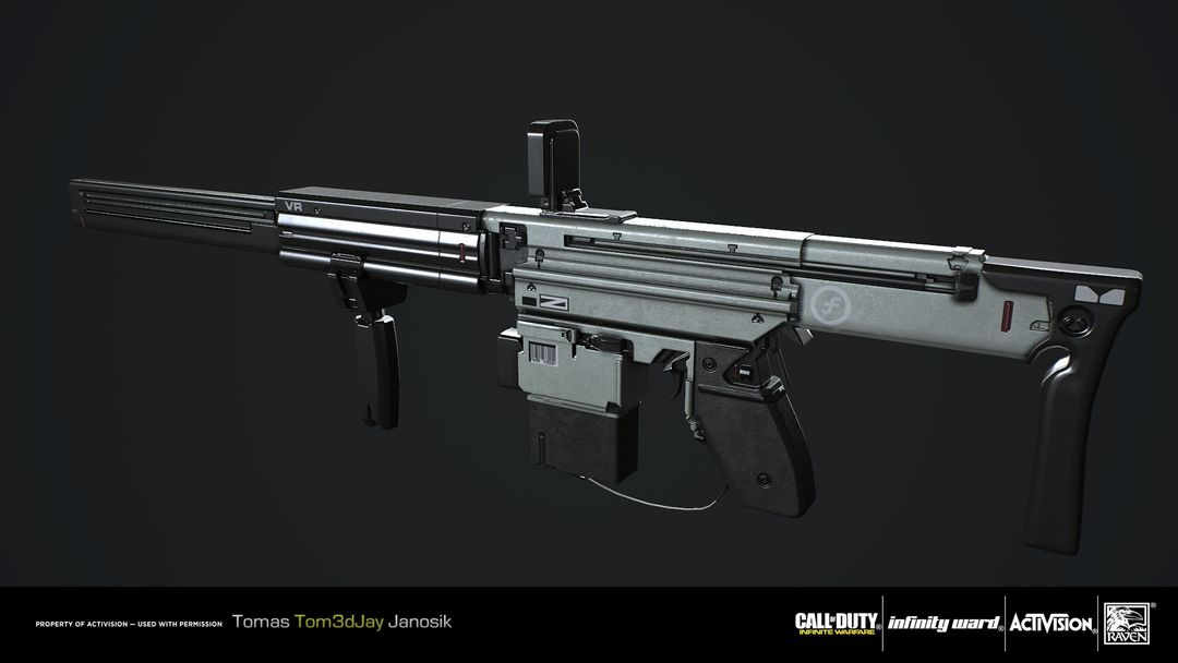 X-eon Assault Rifle for Call of Duty