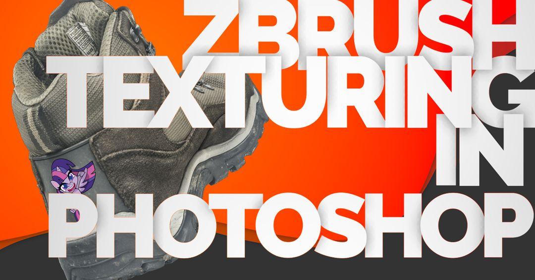 Zbrush Texturing using Photoshop