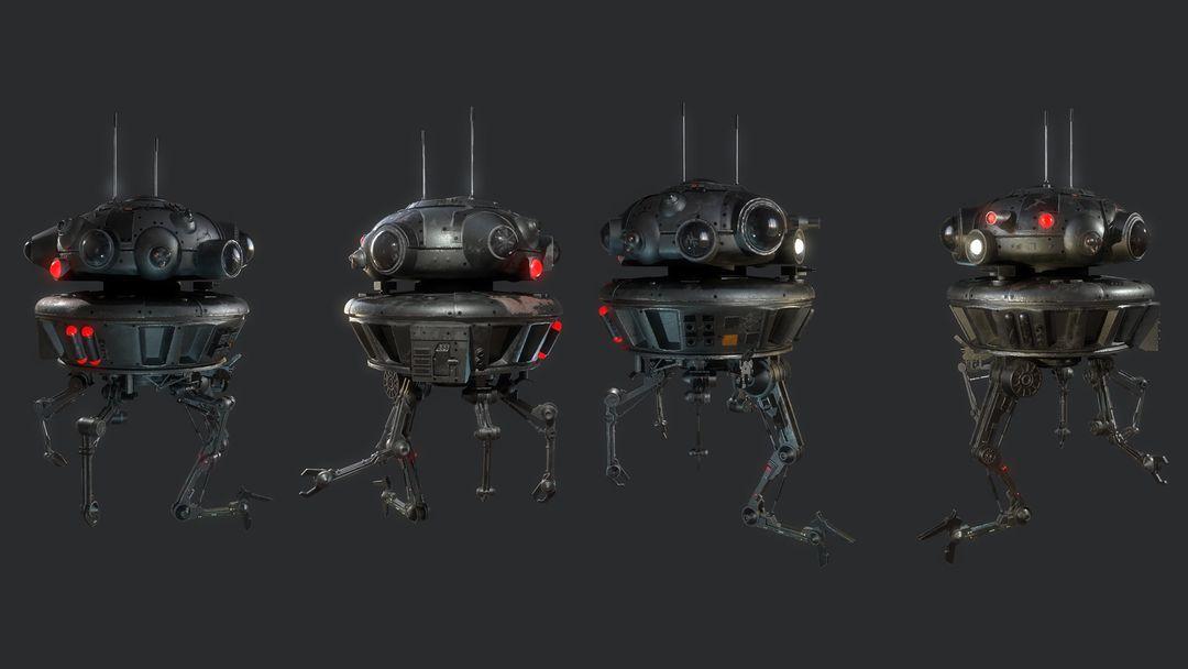 Viper Probe Droid Arakyd Viper Probe Droid noWireframe Breakdown jpg