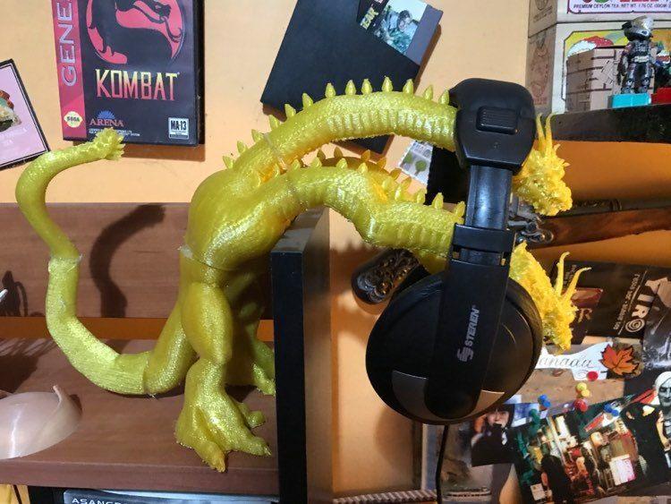 King Ghidora Headphones Holder picture 09 jpg