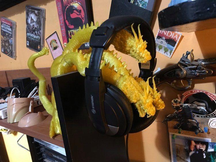 King Ghidora Headphones Holder picture 10 jpg