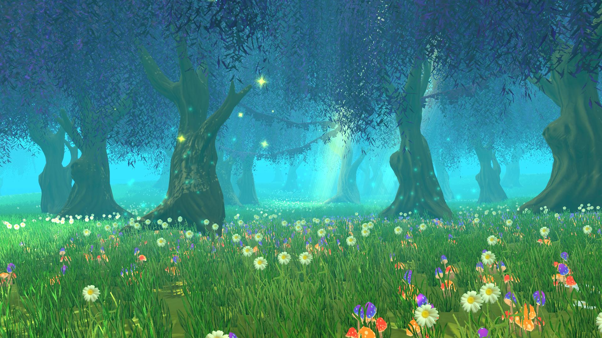 Game environments Stylized forest JPG