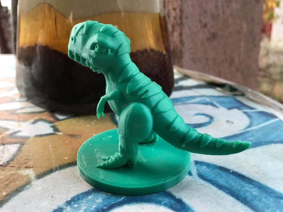Stylized Dinosaur T-Rex 3D Printable 02 jpg