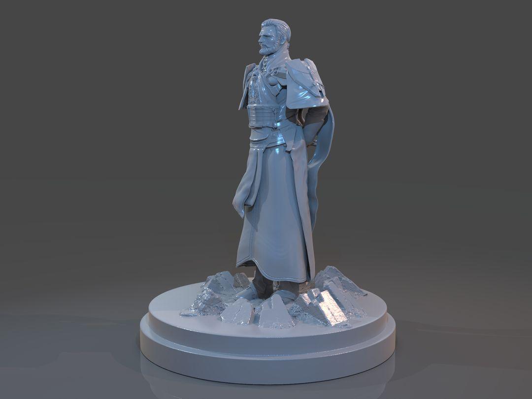 Emperor Valkorion Sculpture 3D Print Emperor Valkorion Render 131 jpg