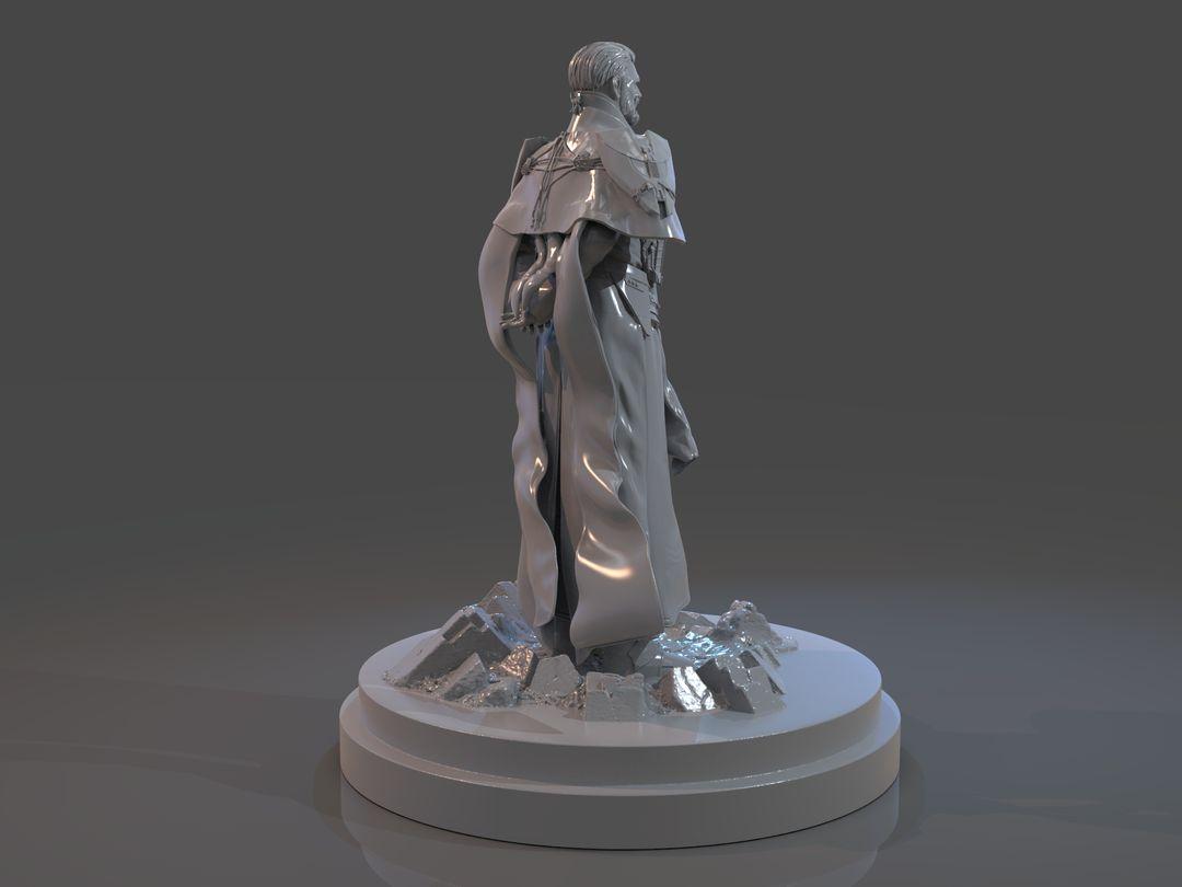 Emperor Valkorion Sculpture 3D Print Emperor Valkorion Render 135 jpg