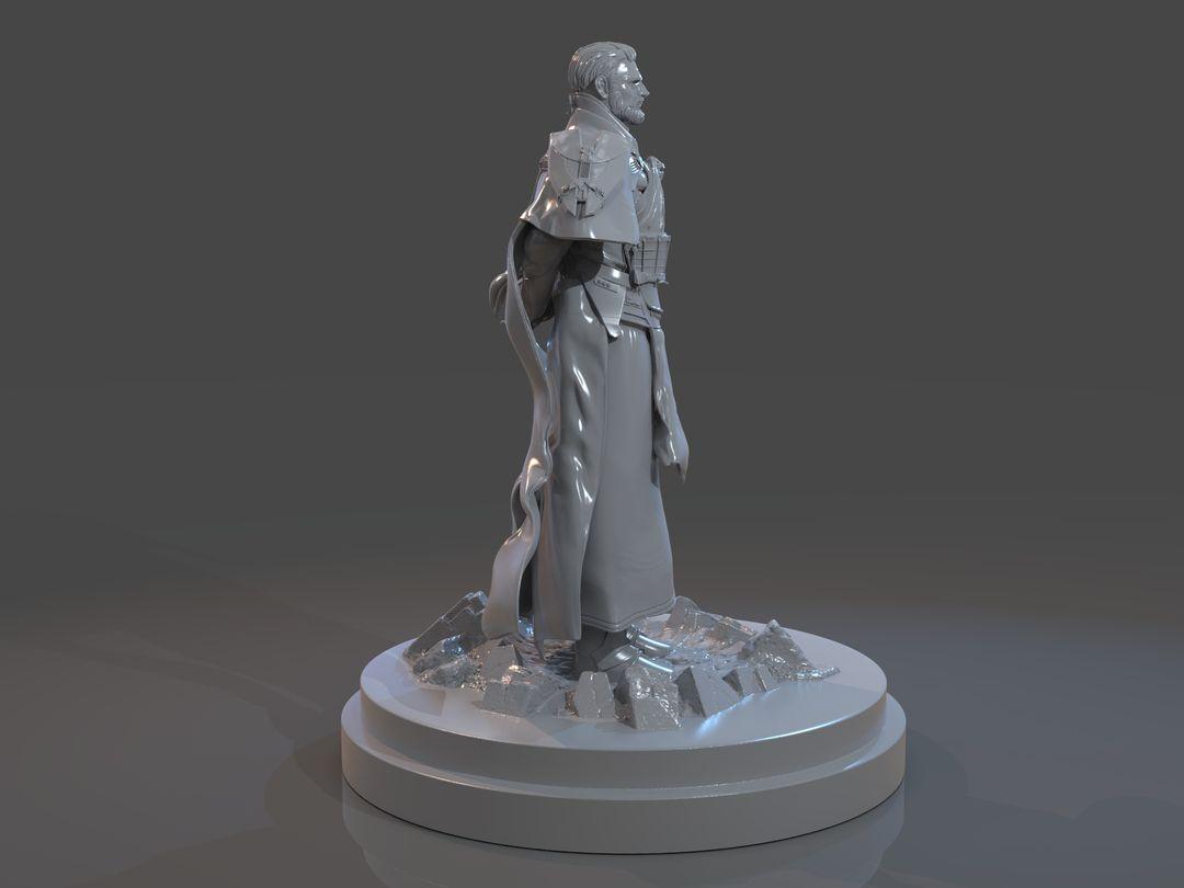 Emperor Valkorion Sculpture 3D Print Emperor Valkorion Render 136 jpg