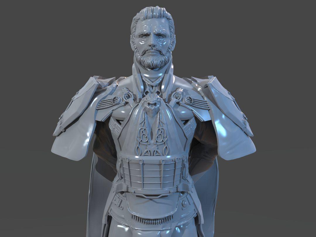 Emperor Valkorion Sculpture 3D Print Emperor Valkorion Render 139 jpg