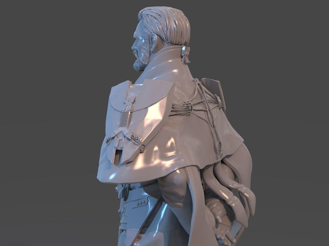 Emperor Valkorion Sculpture 3D Print Emperor Valkorion Render 142 jpg