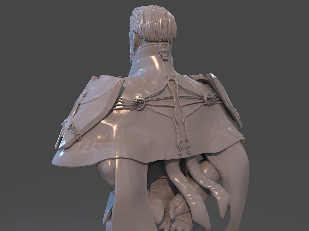 Emperor Valkorion Sculpture 3D Print Emperor Valkorion Render 143 jpg
