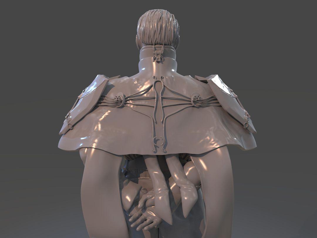 Emperor Valkorion Sculpture 3D Print Emperor Valkorion Render 144 jpg