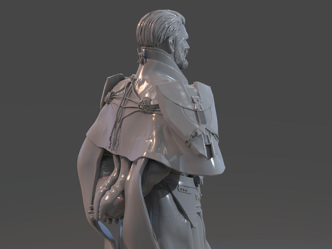 Emperor Valkorion Sculpture 3D Print Emperor Valkorion Render 145 jpg