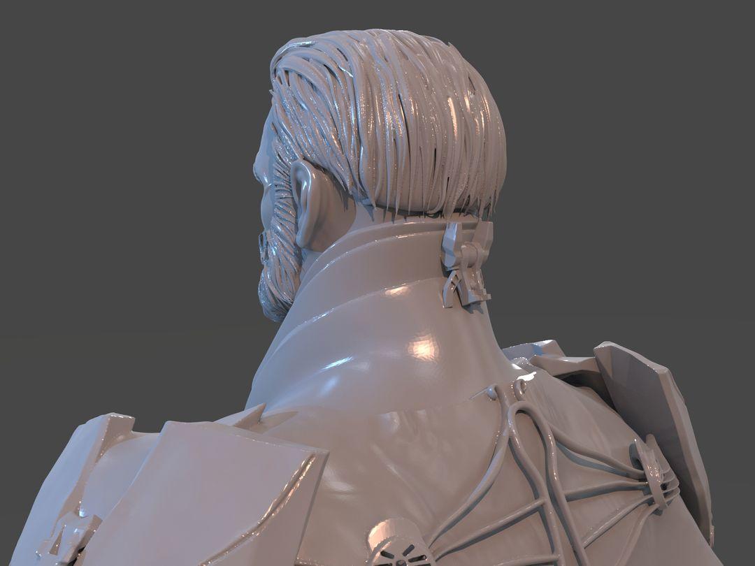 Emperor Valkorion Sculpture 3D Print Emperor Valkorion Render 151 jpg