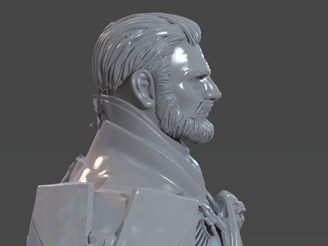 Emperor Valkorion Sculpture 3D Print Emperor Valkorion Render 154 jpg