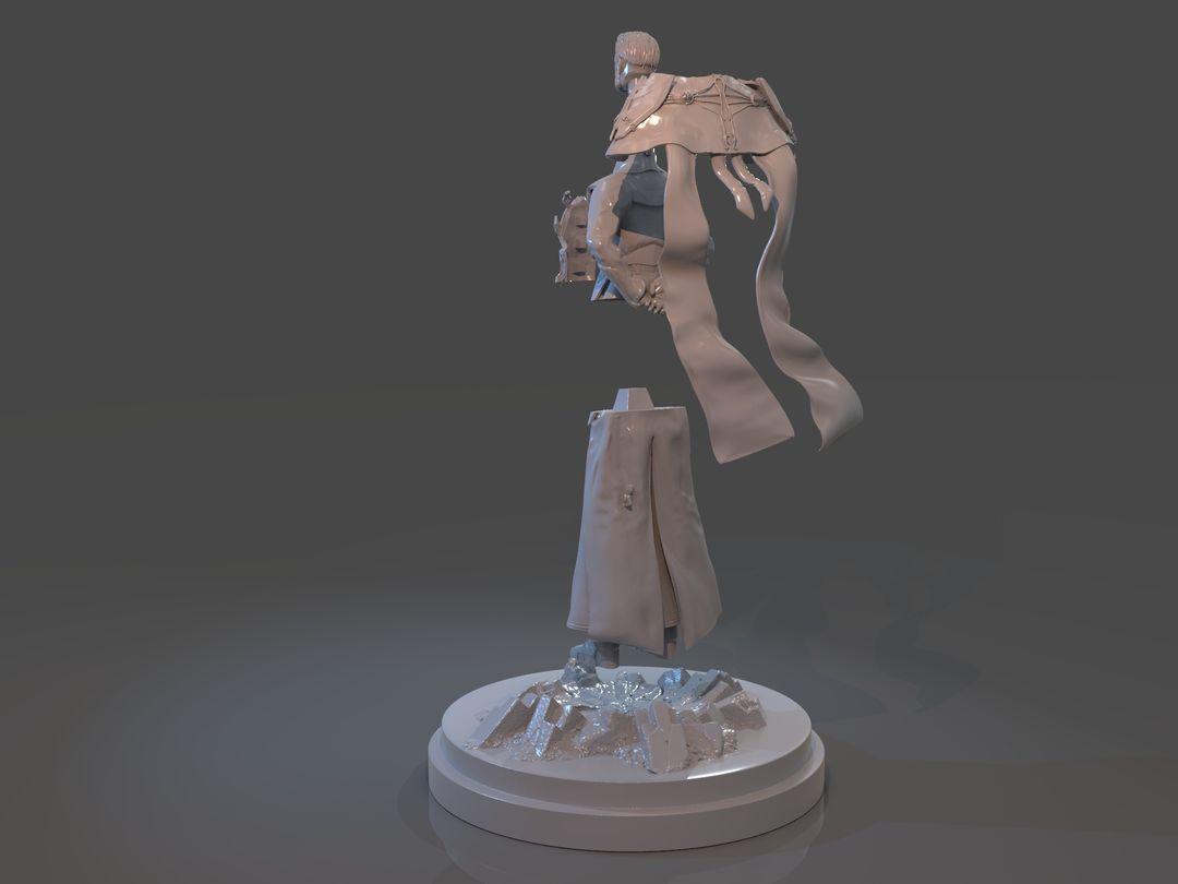 Emperor Valkorion Sculpture 3D Print Emperor Valkorion Render 159 jpg