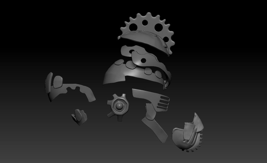 Cyberpunk Helmet Screenshot 13 png