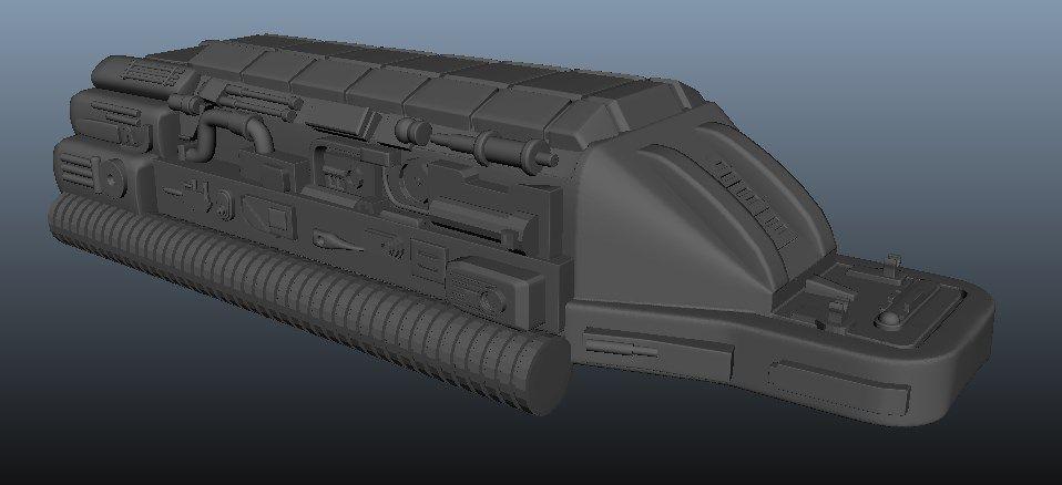 Predator Gaunlet Final Model Screenshot 5 jpg