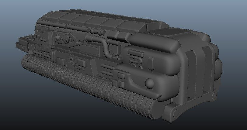 Predator Gaunlet Final Model Screenshot 8 jpg