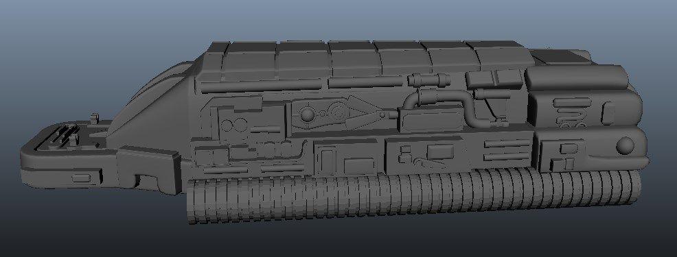 Predator Gaunlet Final Model Screenshot 9 jpg