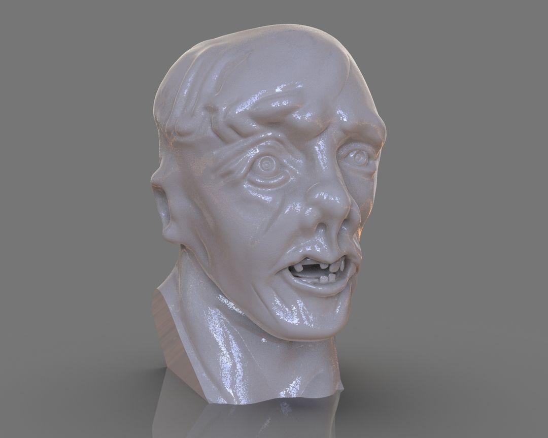 Jason Voorhees Bust 3D Print untitled 105 jpg