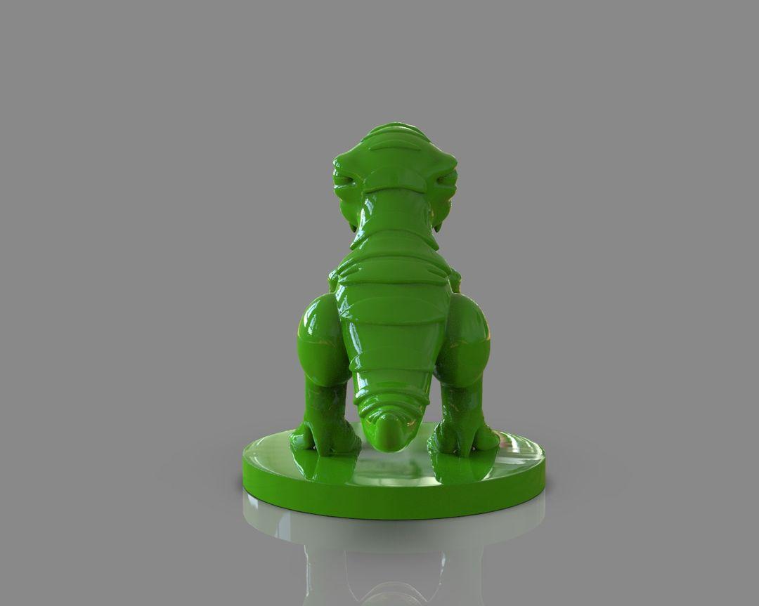 Stylized Dinosaur T-Rex 3D Printable untitled 118 jpg