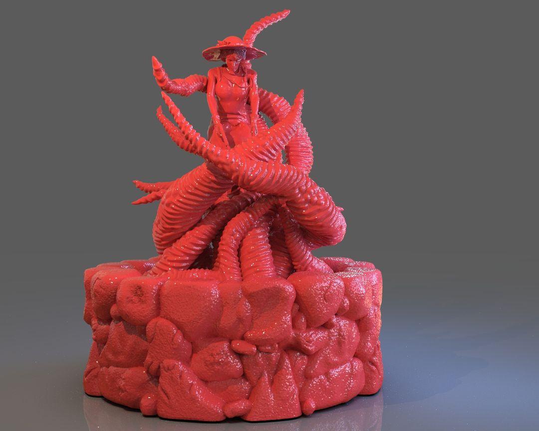 Jenny Barnes VS Dark Young Of Niggurath Diorama untitled 449 jpg