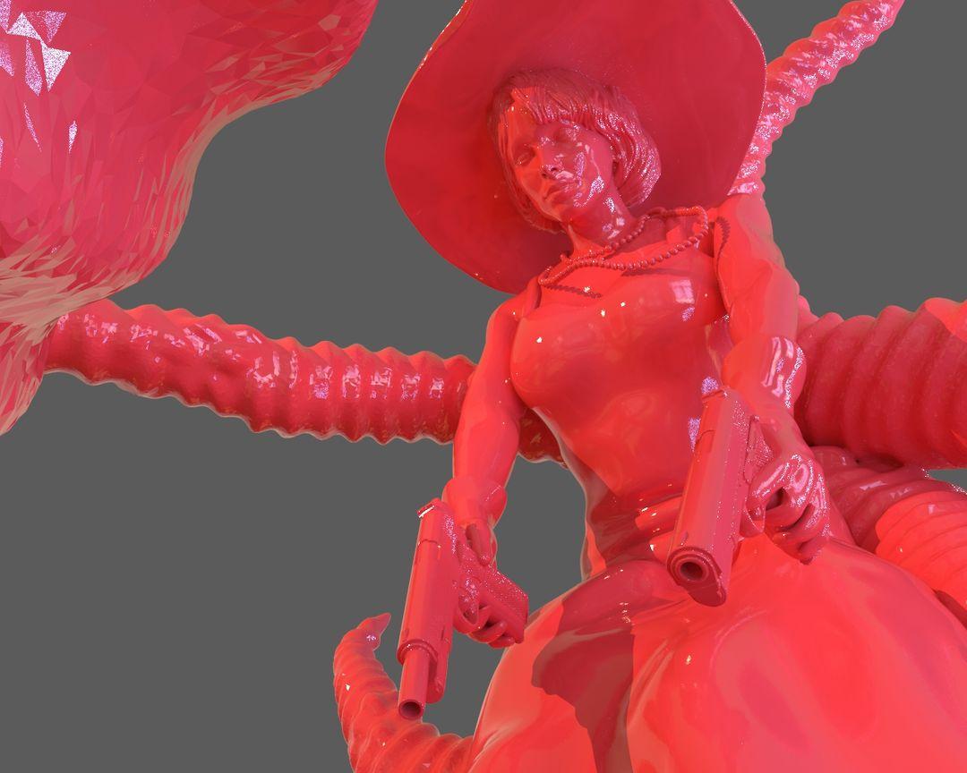 Jenny Barnes VS Dark Young Of Niggurath Diorama untitled 473 jpg