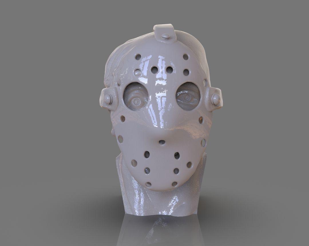 Jason Voorhees Bust 3D Print untitled 90 jpg