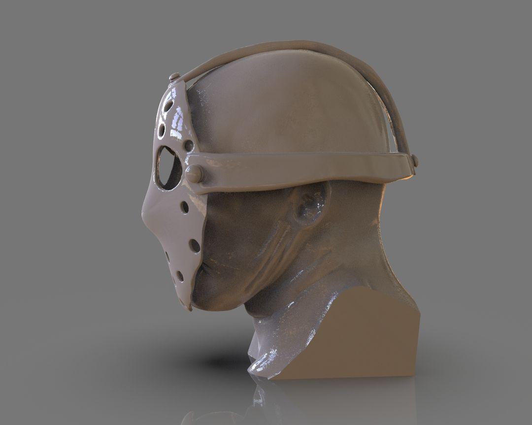 Jason Voorhees Bust 3D Print untitled 92 jpg