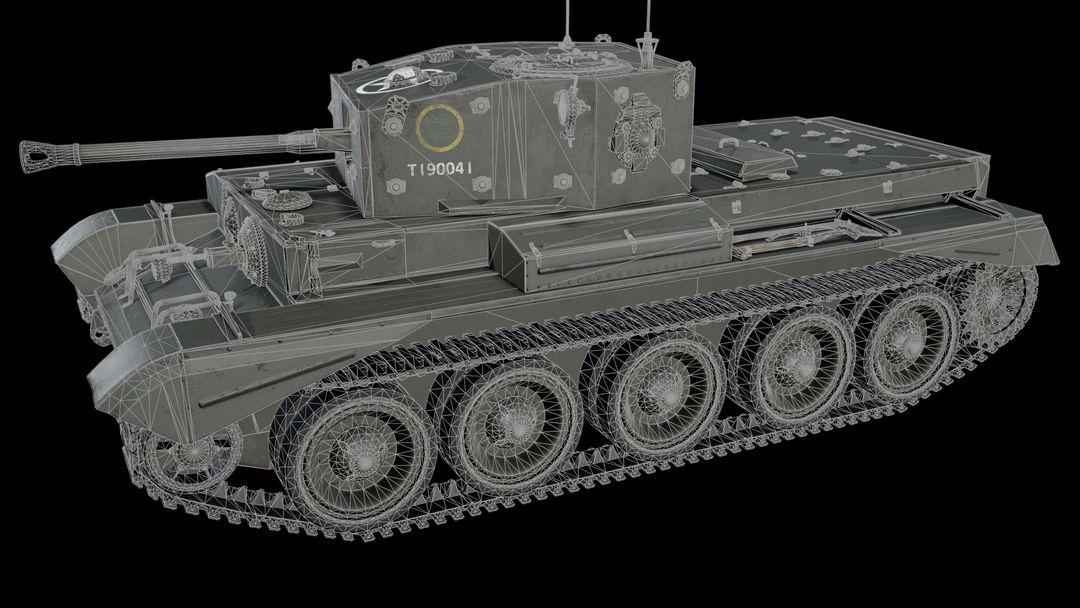 Cromwell tank Cromwell wire 1 jpg