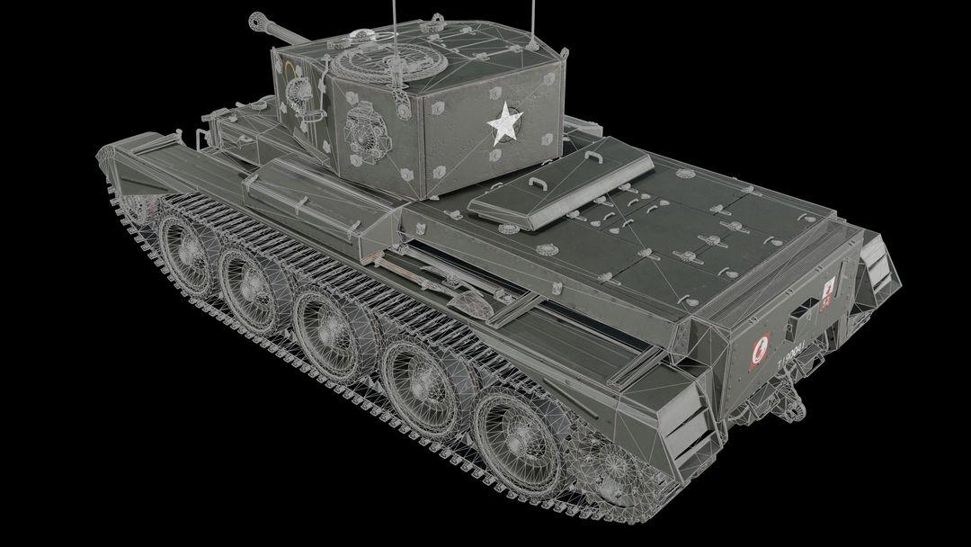 Cromwell tank Cromwell wire 2 jpg