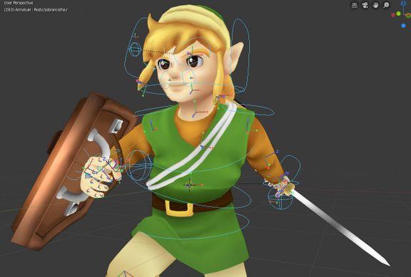 Stylized Link