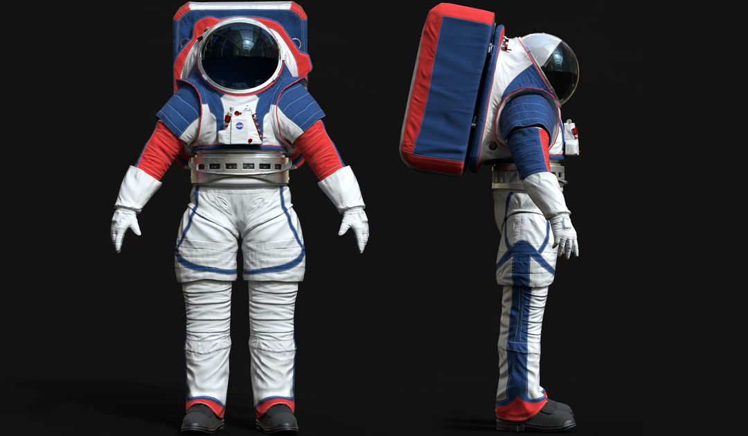 Lowpoly Astronaut Suit 12a jpg