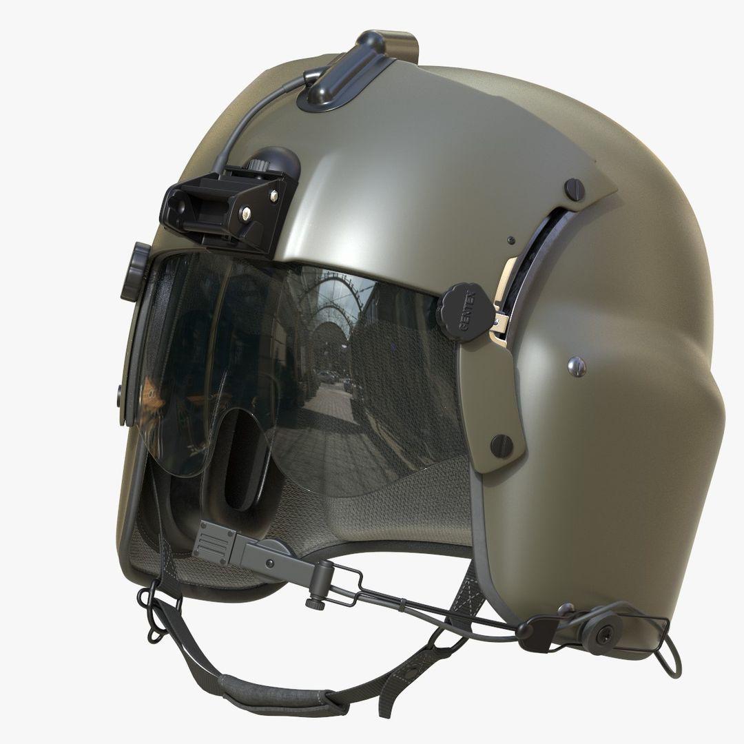 Pilot Helmet Gentex HGU 56P 1zq jpg