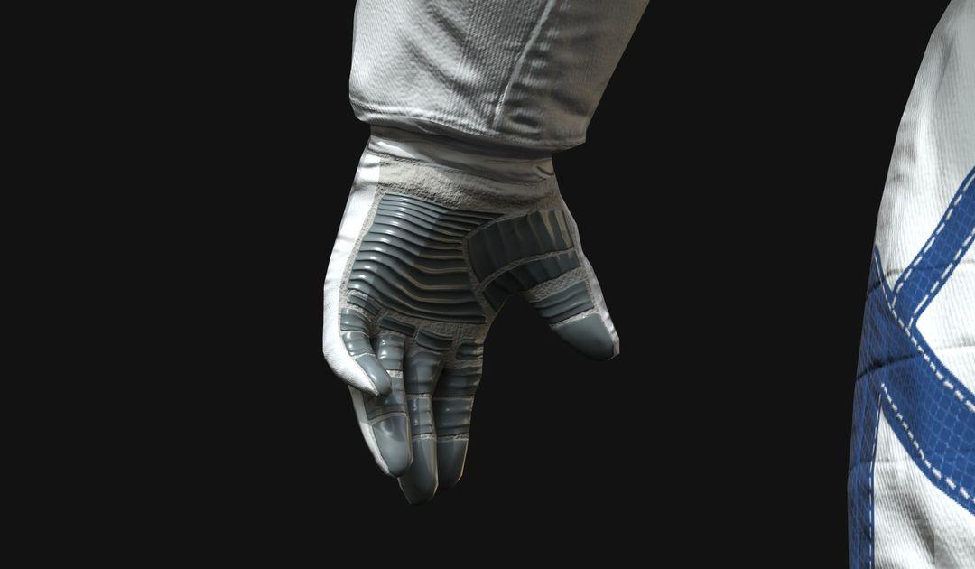 Lowpoly Astronaut Suit 4ee jpg
