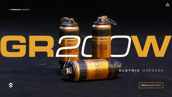 GR200W Eletric Grenade