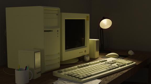 Retro Personal Computer