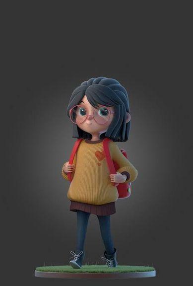 Cartoon style modells