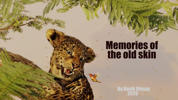 "CGI 3D Animated short film ""Memories of the old skin"""