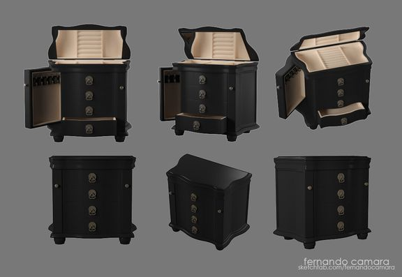 The Jewelry Box - hardsurface training