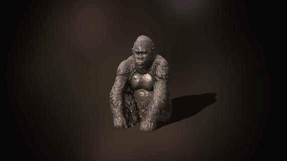 QuokkaGames: Photogrammetry - Gorilla Statue