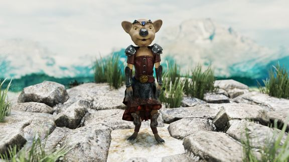 Quokka Adventures: The Sorcerer - Player character