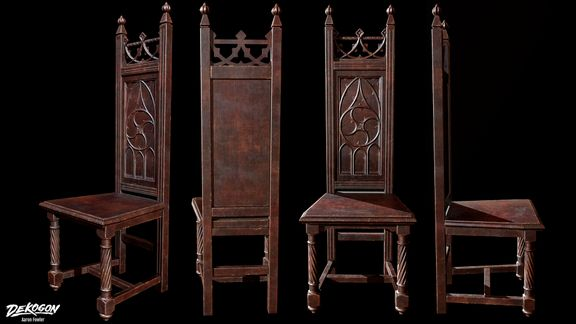 Medieval Gothic Chair