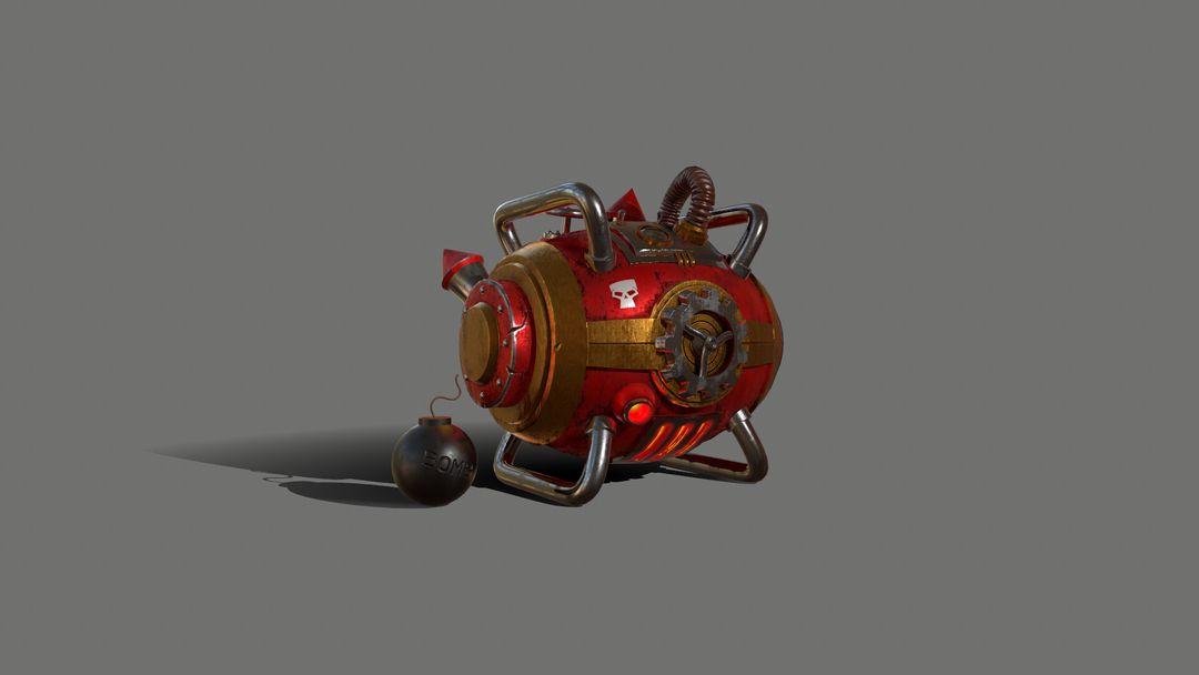 Gas Bomb - Explosive Machine GasBomb 001 jpg