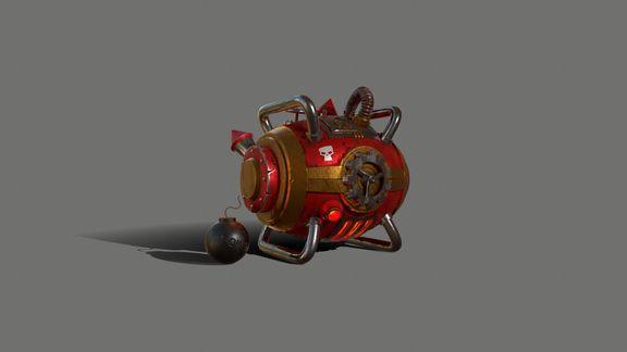 Gas Bomb - Explosive Machine