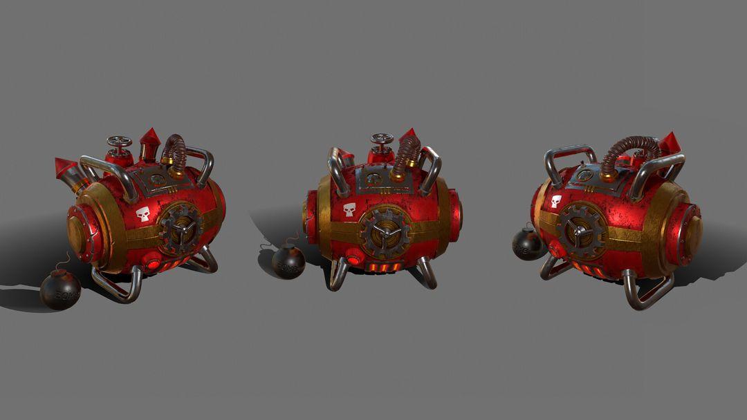 Gas Bomb - Explosive Machine GasBomb 002 jpg