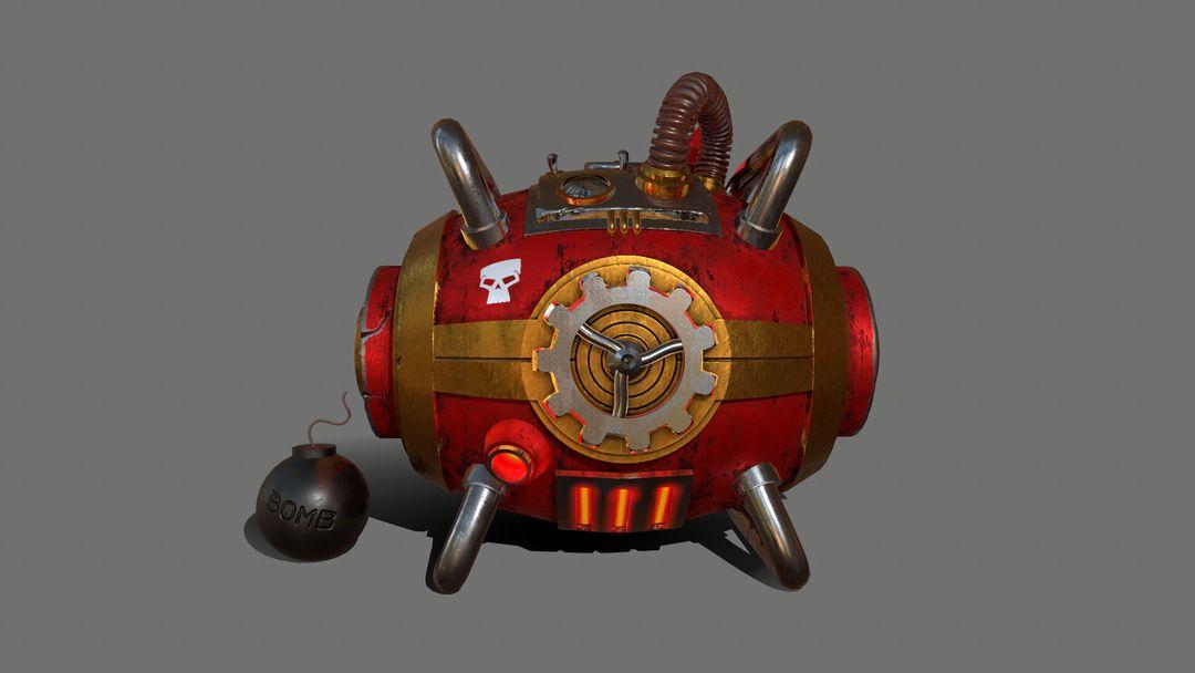 Gas Bomb - Explosive Machine GasBomb 003 jpg