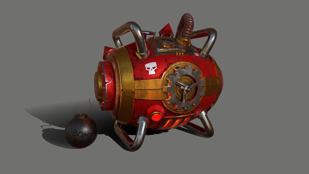 Gas Bomb - Explosive Machine GasBomb 004 jpg
