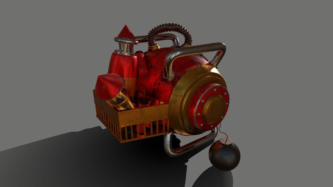 Gas Bomb - Explosive Machine GasBomb 005 jpg
