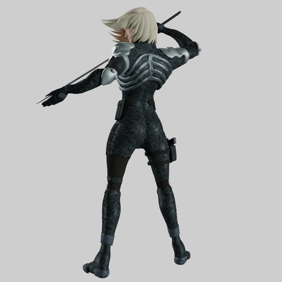 Raiden - Metal Gear Solid 2