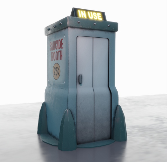 Suicide Booth- Futurama